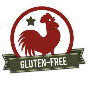 Our Fried Chicken is Gluten-Free!