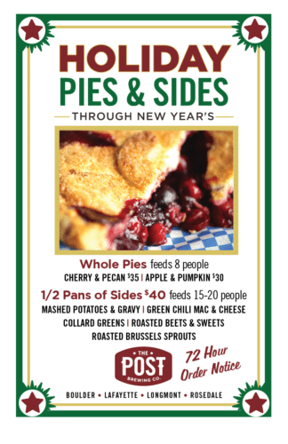 Holiday Pies & Sides