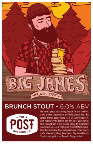 Big James Brunch Stout