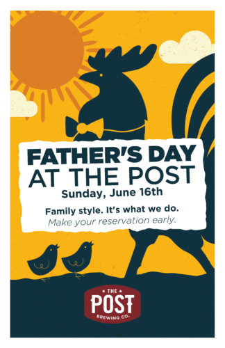 Father's Day At The Post