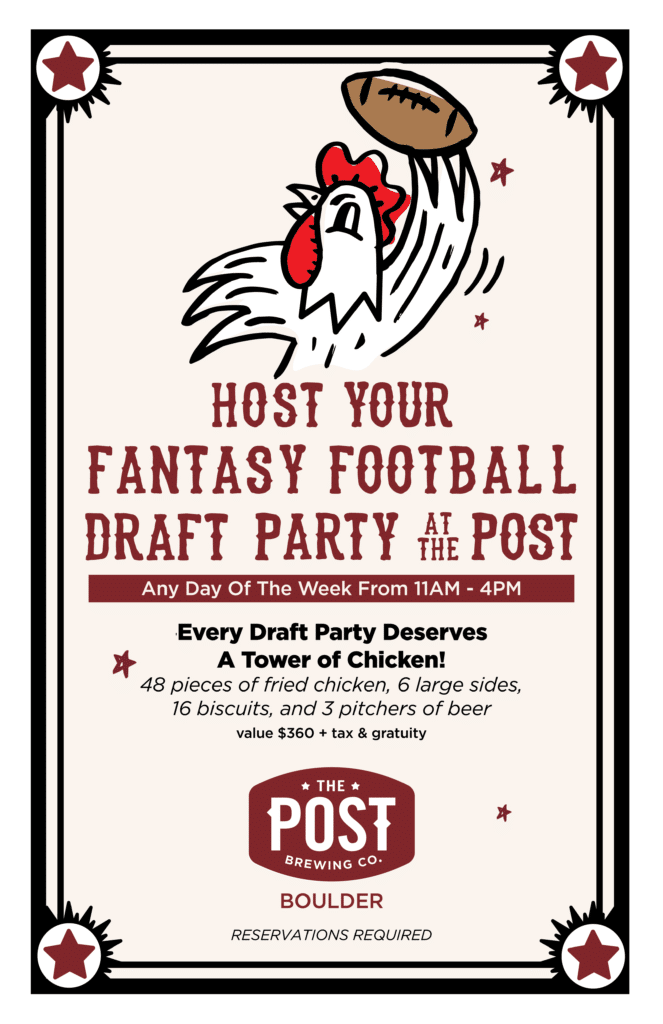 Fantasy Football Draft Parties