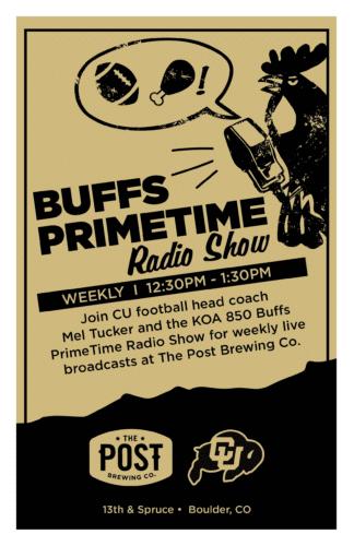 Buff Primetime Radio Show
