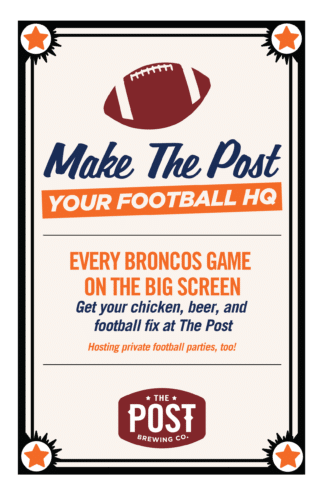 Make The Post your Football HQ